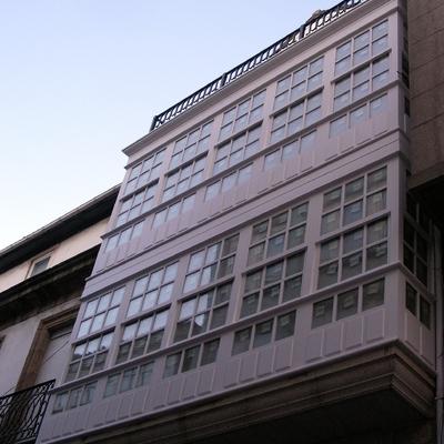 construcción de edificios y galerias