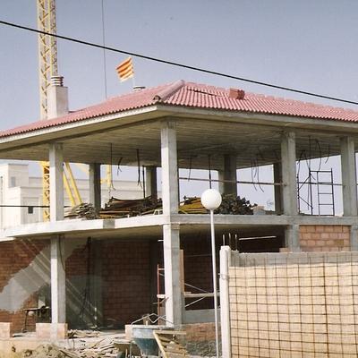 Construcción de estructura