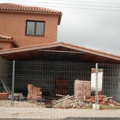 construccion de garaje