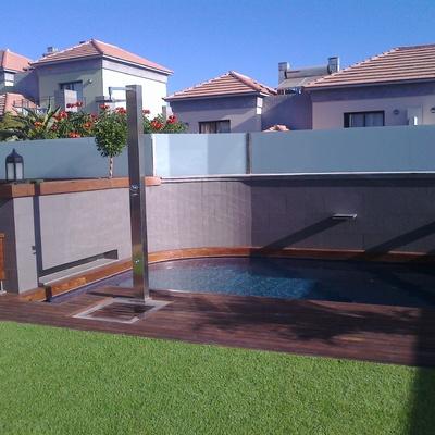 Construcción de piscina en chalet
