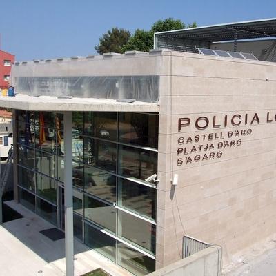 Construcción de seu de policía local de Platja d'aro