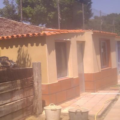 Construcción de trastero zona jardin, Sant Feliu de Codinas.