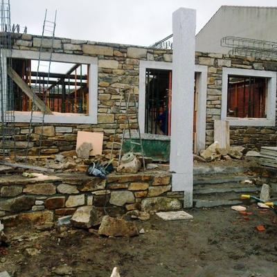 Construcción en piedra casa en Bermillo de Sayago, Zamora