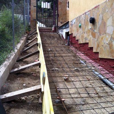CONSTRUCCION ESCALERA EXTERIOR