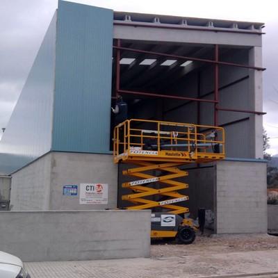 construcción nave industrial