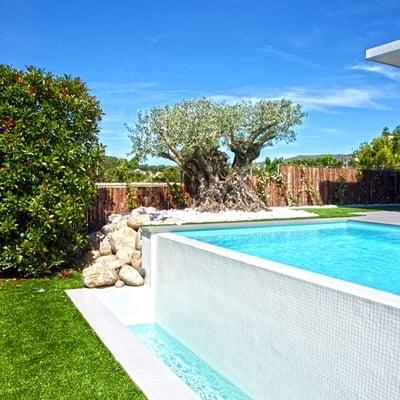 Piscina con hueco existente el tiemblo vila habitissimo - Presupuestos para piscinas ...