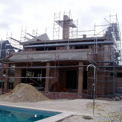 Construcción vivienda Unifamiliar Monterozas
