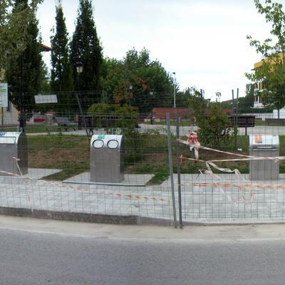 Contenedores soterrados en Entrambasaguas, Cantabria (1)