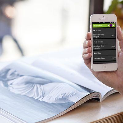 Control de calefacción de forma muy sencilla e intuitiva desde el móvil