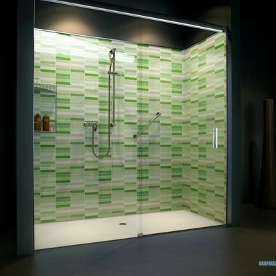 Convertir bañera en ducha verde