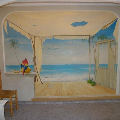 mural apartamento