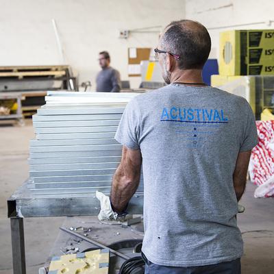 Fabricación de productos acústicos