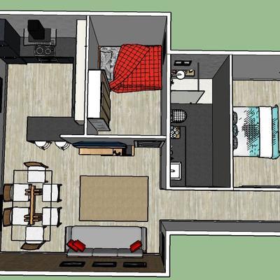 Plano de vivienda
