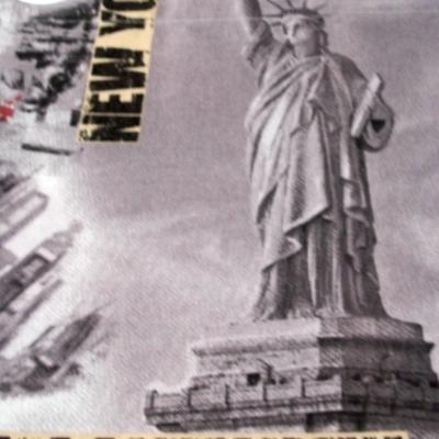 Cortina Confeccionada Ollado Niquel Mate Manhattan