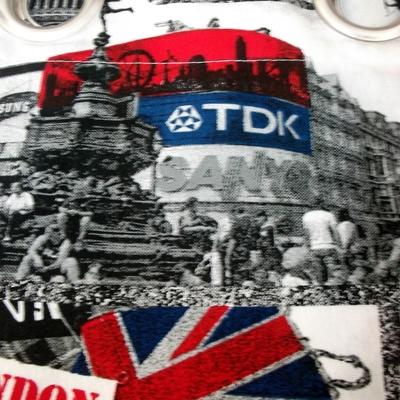 Cortina Confeccionada Ollado Niquel Mate London
