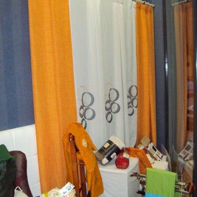 cortina confeccionada