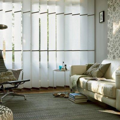 Cortinas verticales de paneles 250mm de gradulux