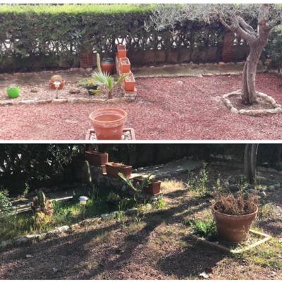 Limpieza y trabajos de jardinería Creixell