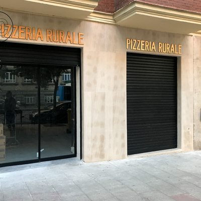 Reforma integral pizzeria