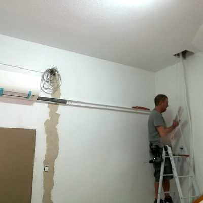 Trabajo en pared