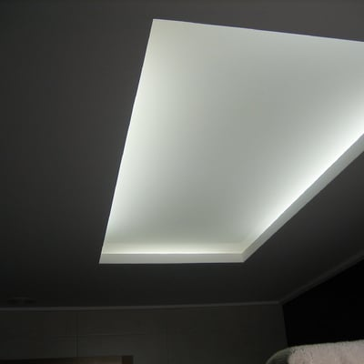 cuadrado para luz indirecta( luz encendida)