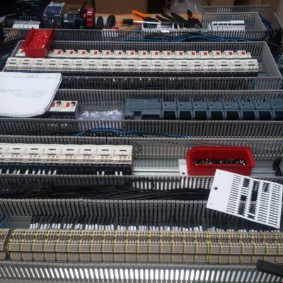 Montaje armario eléctrico