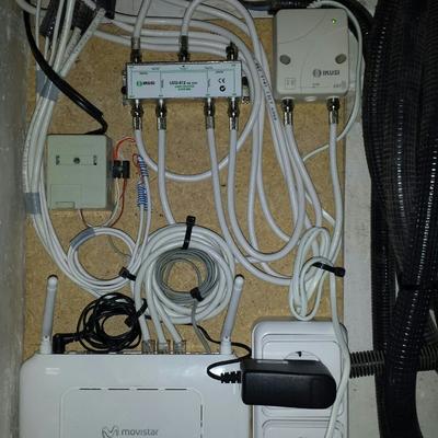 cuadro amplificado de telecomunicaciones