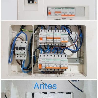 cuadro electrico vivienda electrificacion elevada