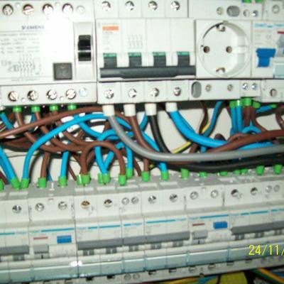 Cuadro Electrico en Colegio