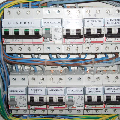cuadro eléctrico