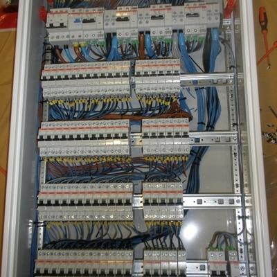 cableado cuadro eléctrico