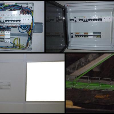 cuadros electricos instalacion industrial secundarios