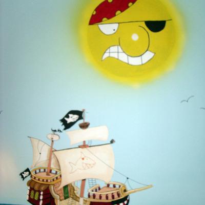 cuarto piratas