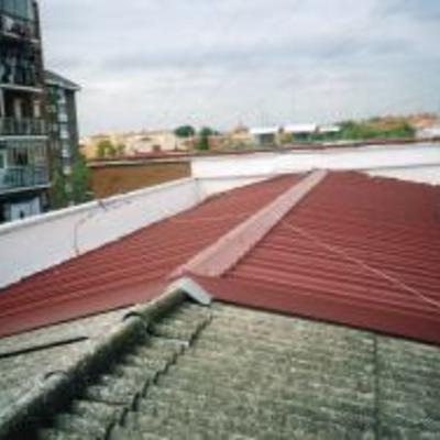 Doblaje de cubierta Impermeabilizaciones LLanos Macias