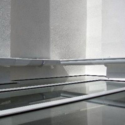 cubierta cristal