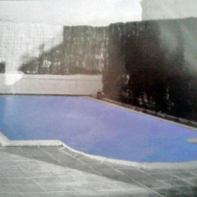 cubierta de piscina pvc bicolor