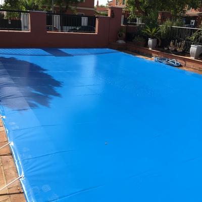 Cubierta protección piscina