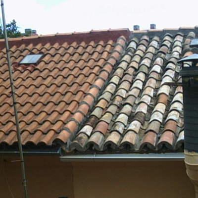 Acondicionamiento de cubierta de teja Impermeabilizaciones Llanos Macias