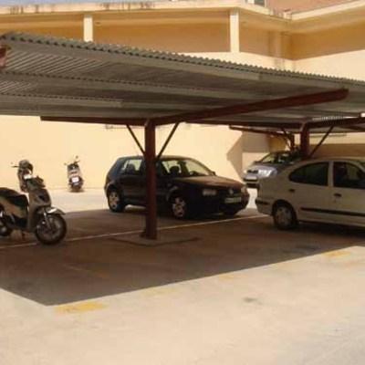Cubiertas de aparcamiento