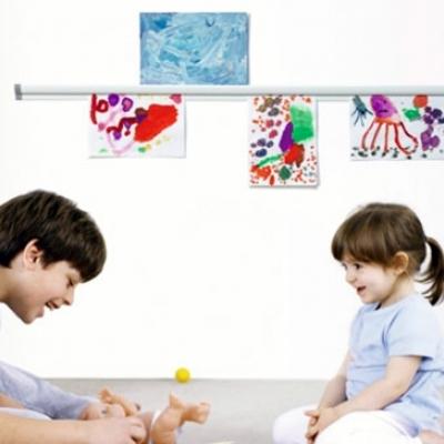 Cuelga los dibujos de tus hijos ¡de la forma más original!