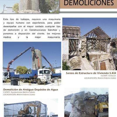 TRABAJOS DE DEMOLICIONES