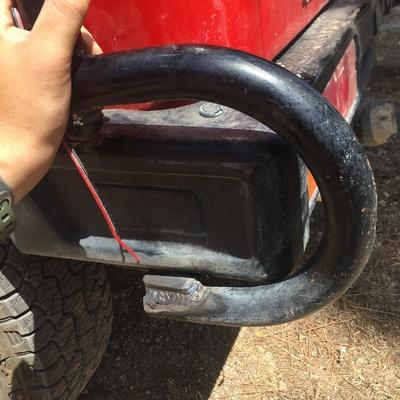 Reparación barras anti vuelcos