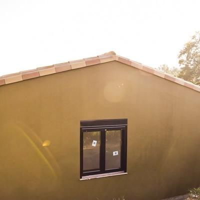 Fachada exterior trasera Calafell