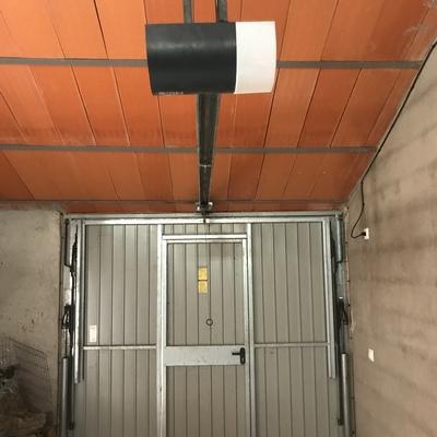 Resultado de automatización de puerta de garaje