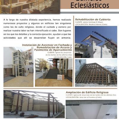 TRABAJOS DE ESPACIOS ECLESIÁSTICOS