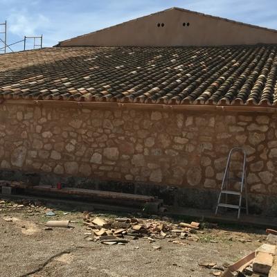Reforma tejado y fachada