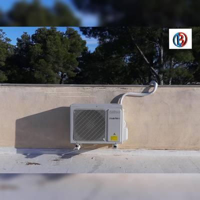 Compresor instalado