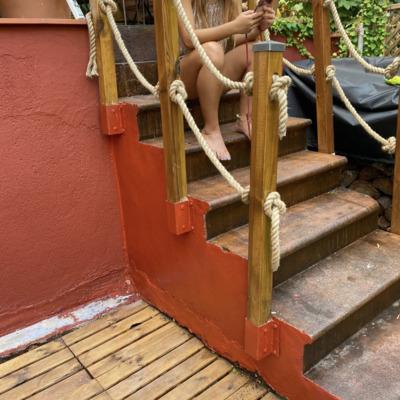 Escalera realizada