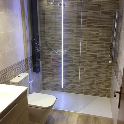 Reforma cuarto de baño completo
