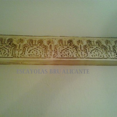 Decoración Árabe, trabajo realizado en Santa Pola, Alicante